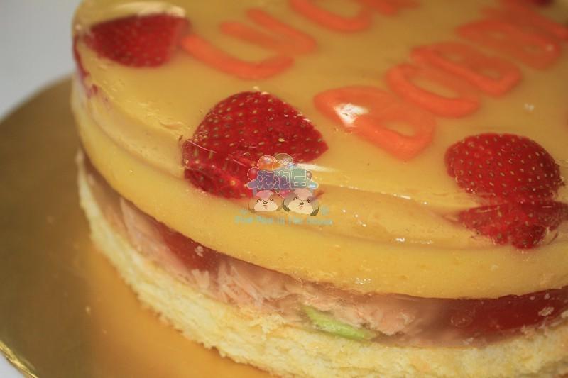 how to make mango jelly cake